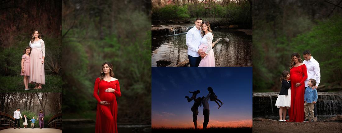 Best Studio Maternity Photographer in Kansas City, Leavenworth, KS