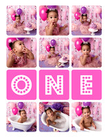 Adelynn | Cake Smash Fort Carson | Colorado Springs, CO
