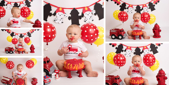Fort Leavenworth, Kansas City, Lansing, Cake Smash and First Year Portraits
