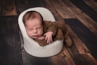 Theo | Newborn Portraits | Leavenworth, KS