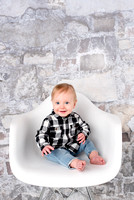 Keanu Cake Smash | Colorado Springs Fort Carson Baby Photographer